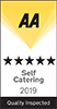 AA Self Catering Quality Inspected 5 Star Award